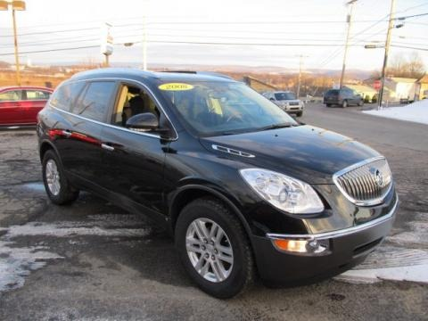 2008 Buick Enclave CX AWD Data, Info and Specs