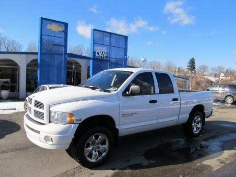 2005 Dodge Ram 1500 Thunder Road Quad Cab 4x4 Data, Info and Specs
