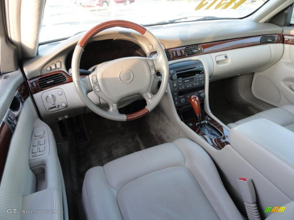 Neutral Shale Interior 2003 Cadillac Seville Sts Photo