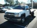 2003 Summit White Chevrolet Silverado 3500 Regular Cab 4x4 Chassis  photo #4