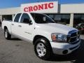 2006 Bright White Dodge Ram 1500 SLT Quad Cab  photo #1