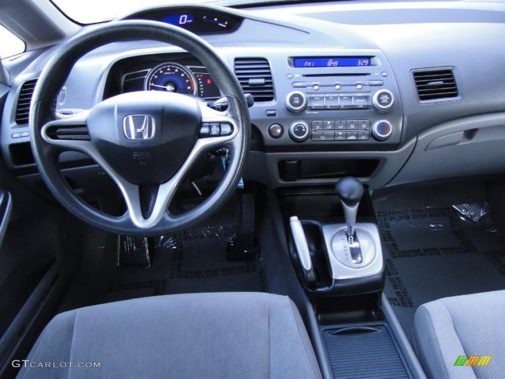 2009 Honda Civic Lx Sedan Gray Dashboard Photo 42141624 Gtcarlot Com