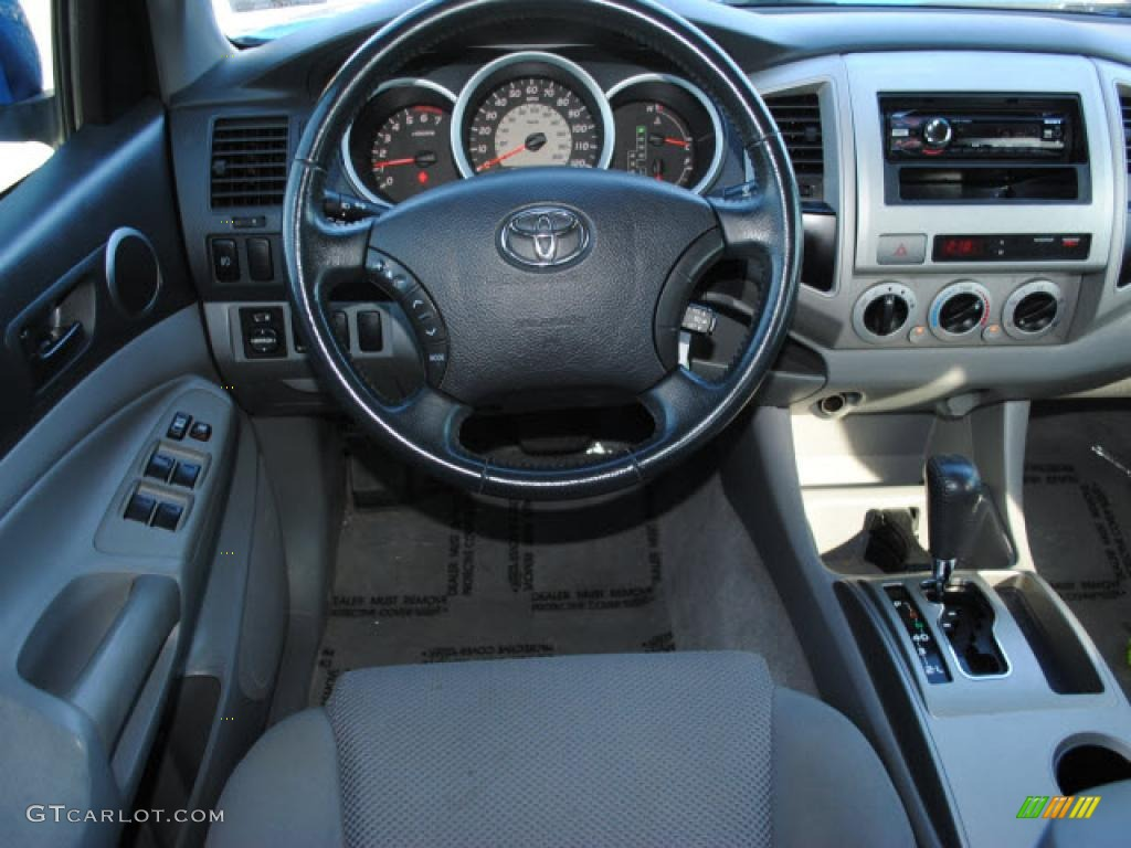 2006 toyota tacoma v6 prerunner trd sport double cab interior photo 42152240