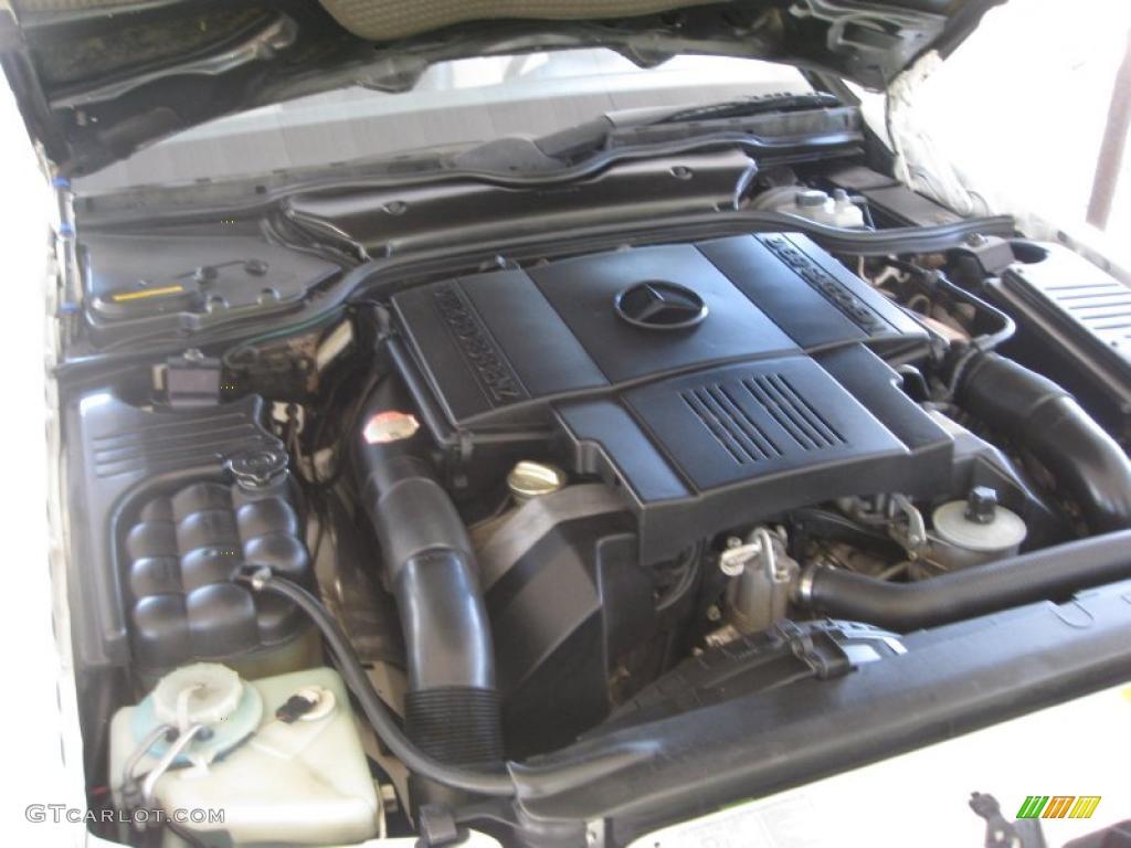 1994 mercedes benz sl 500 roadster 5 0 liter dohc 32 valve for Mercedes benz v8 engines
