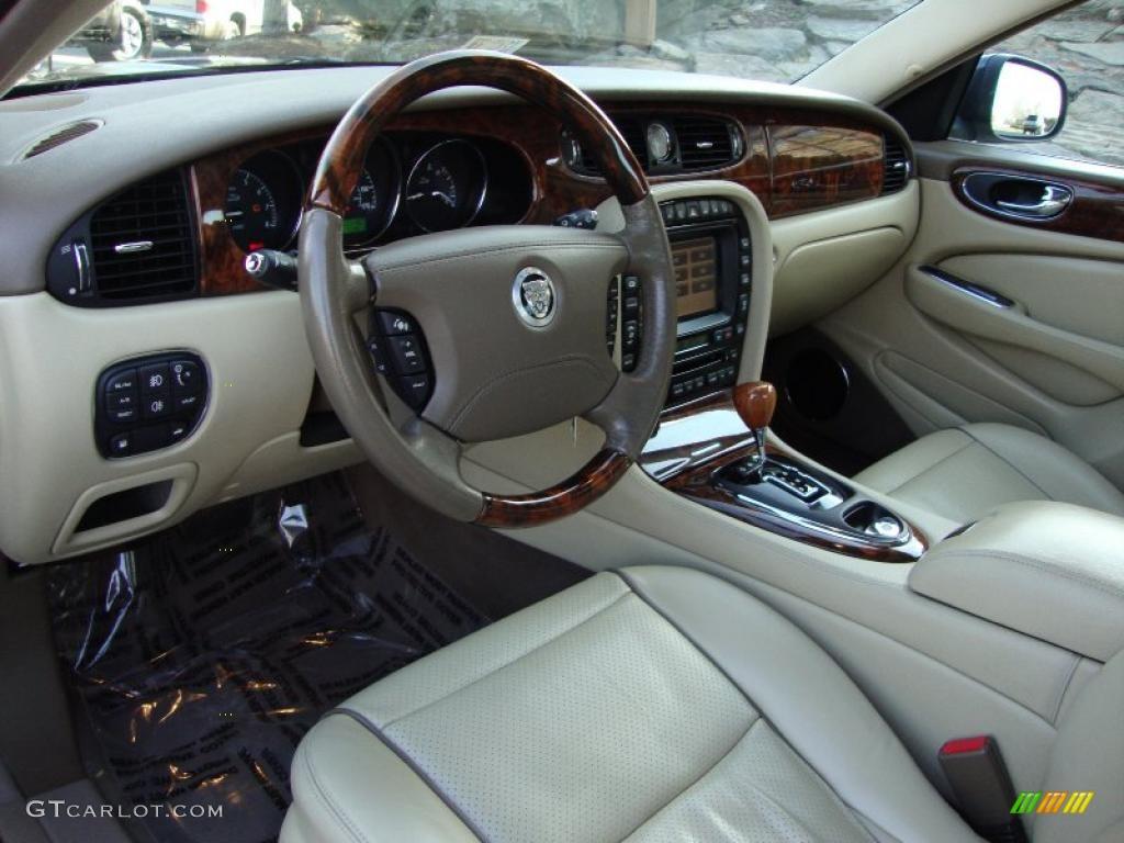 Champagne Mocha Interior 2008 Jaguar Xj Xj8 Photo