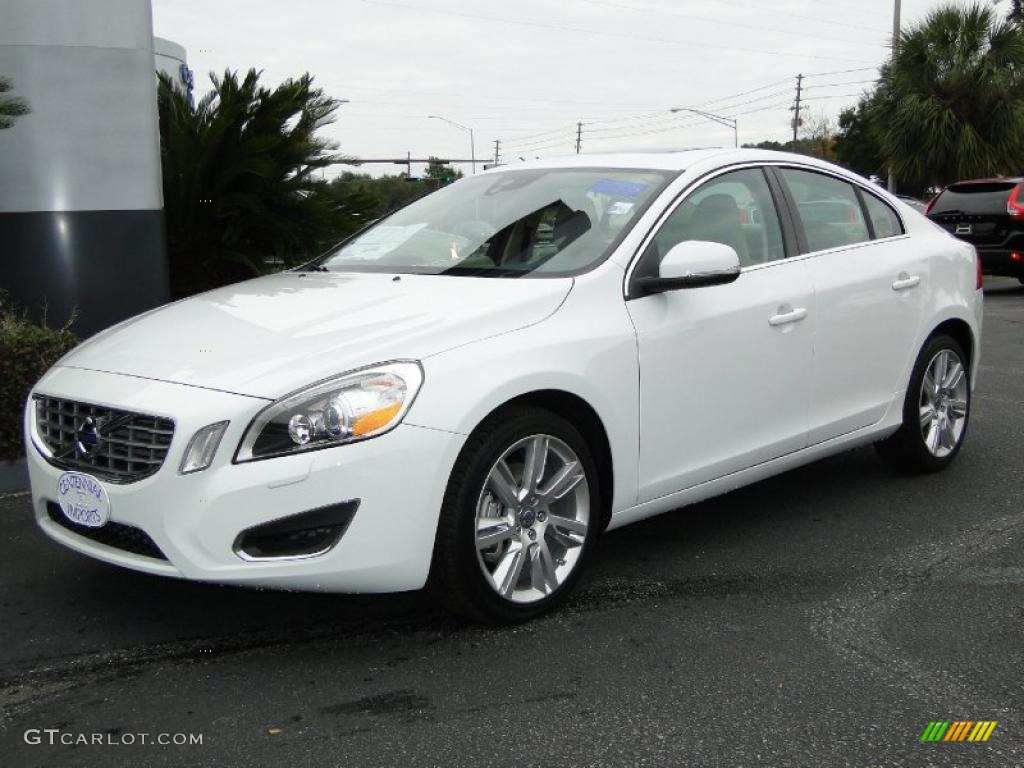 ice white 2011 volvo s60 t6 awd exterior photo 42154660. Black Bedroom Furniture Sets. Home Design Ideas