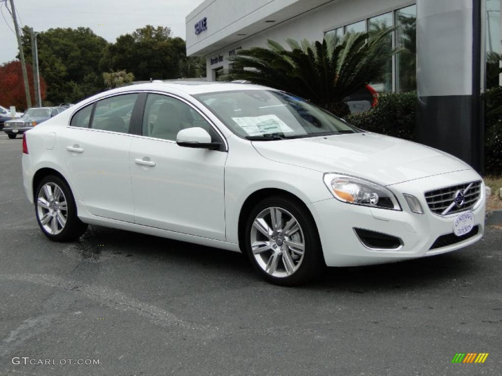 ice white 2011 volvo s60 t6 awd exterior photo 42154924. Black Bedroom Furniture Sets. Home Design Ideas