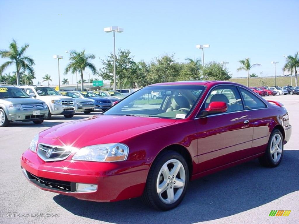 san marino red 2001 acura cl 3 2 type s exterior photo. Black Bedroom Furniture Sets. Home Design Ideas