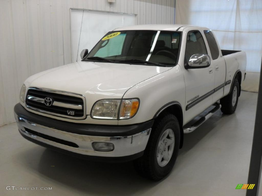 2000 natural white toyota tundra sr5 extended cab 42134287 car color galleries. Black Bedroom Furniture Sets. Home Design Ideas