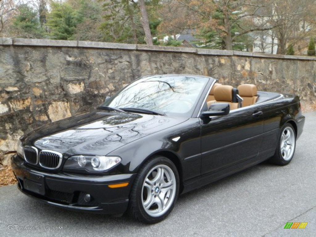 Black Sapphire Metallic BMW Series I Convertible - 2005 convertible bmw
