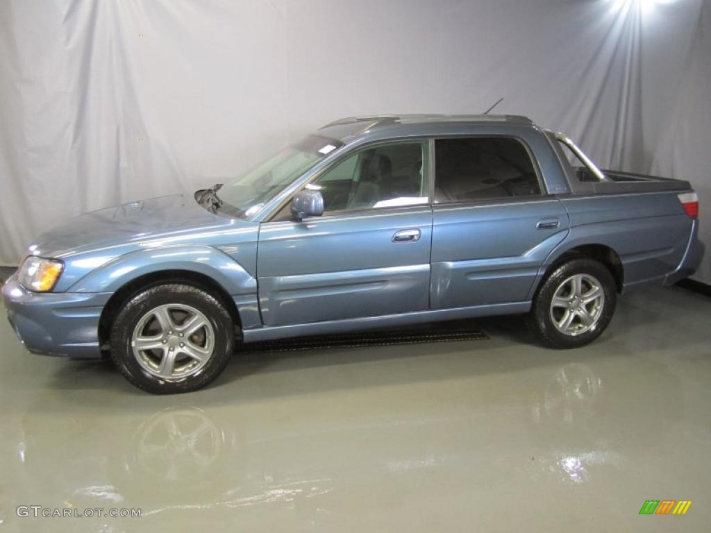atlantic blue pearl 2006 subaru baja turbo exterior photo