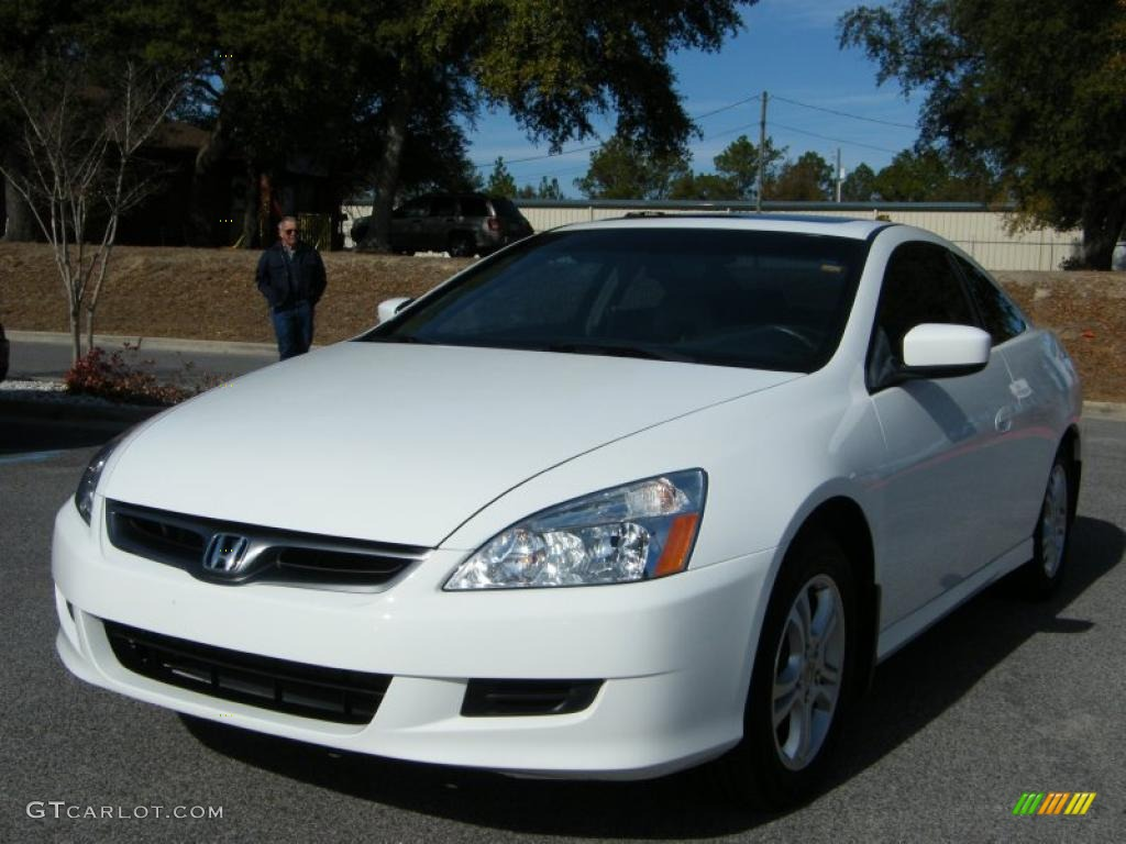 2007 taffeta white honda accord ex l coupe 42133926. Black Bedroom Furniture Sets. Home Design Ideas