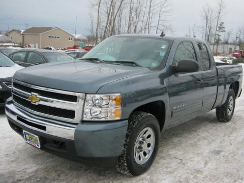 2009 chevrolet silverado 1500 ls extended cab 4x4 data. Black Bedroom Furniture Sets. Home Design Ideas