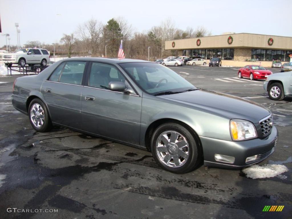 Thunder Gray 2004 Cadillac Deville Dts Exterior Photo 42174288