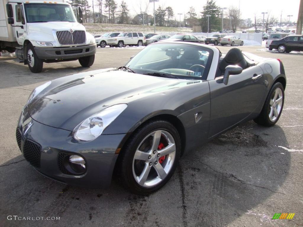 sly gray 2008 pontiac solstice gxp roadster exterior photo. Black Bedroom Furniture Sets. Home Design Ideas