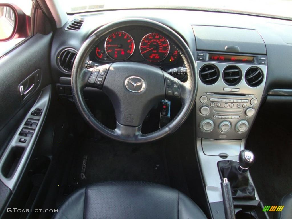 mazda 6 2004 hatchback. 2004 mazda mazda6 s hatchback interior photo 42181204 6