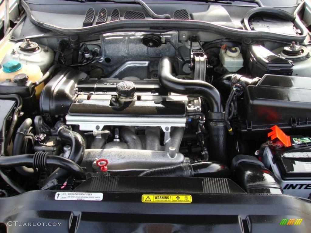 2000 Volvo S70 GLT SE 2.4 Liter Turbocharged DOHC 20-Valve 5 Cylinder Engine Photo #42182344 ...
