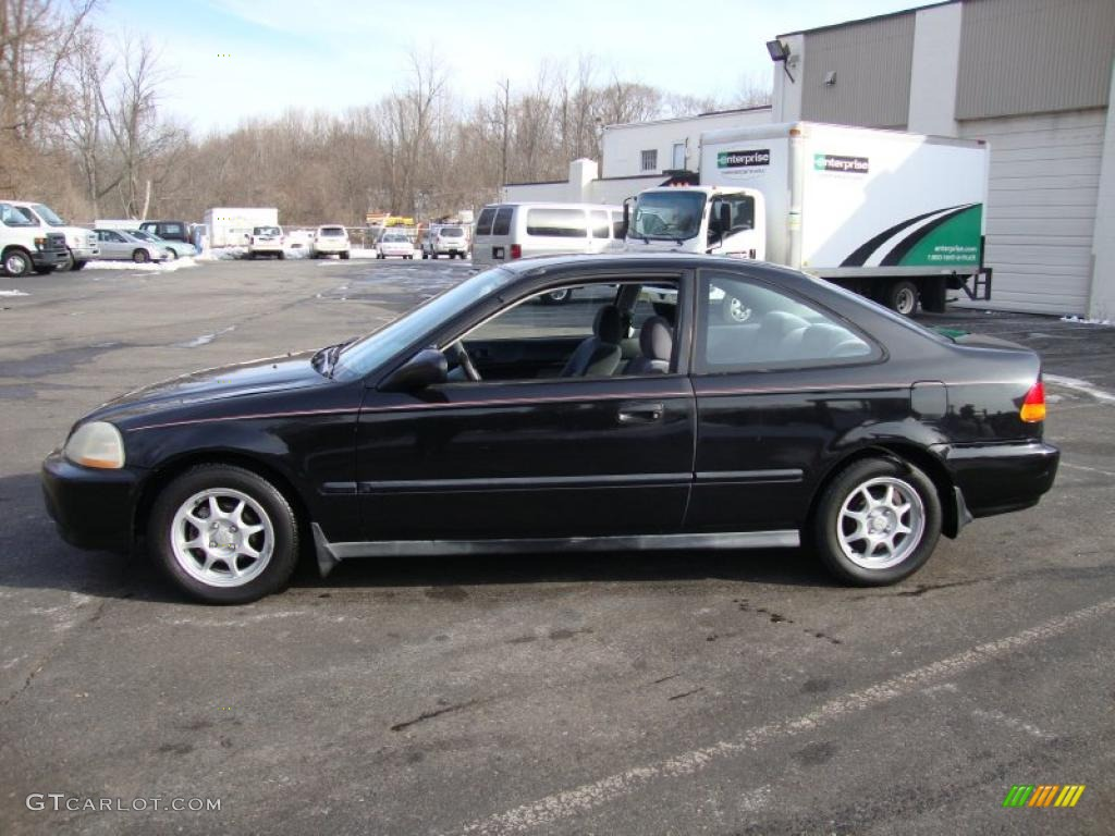 Black Pearl Metallic 1997 Honda Civic Hx Coupe Exterior Photo 42185446 Gtcarlot Com