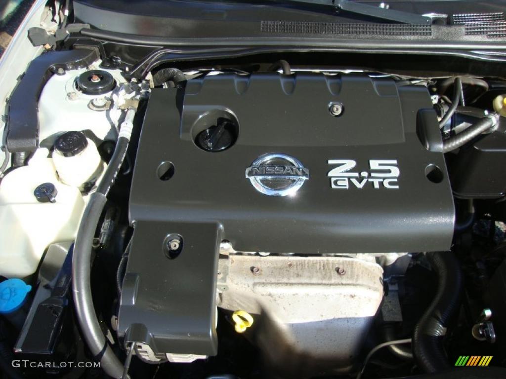 2003 nissan altima 2 5 s 2 5 liter dohc 16v cvtc 4 for Nissan altima 2001 motor