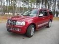 2007 Vivid Red Metallic Lincoln Navigator Luxury  photo #1