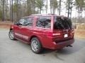 2007 Vivid Red Metallic Lincoln Navigator Luxury  photo #3
