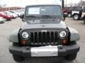 2011 Natural Green Pearl Jeep Wrangler Sahara 4x4  photo #6