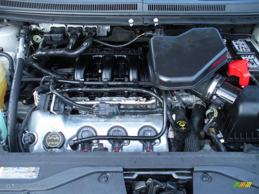 2007 Ford Edge Sel Plus Engine Photos