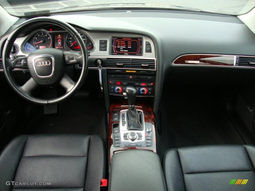 Ebony interior 2007 audi a6 4 2 quattro sedan photo 42200995
