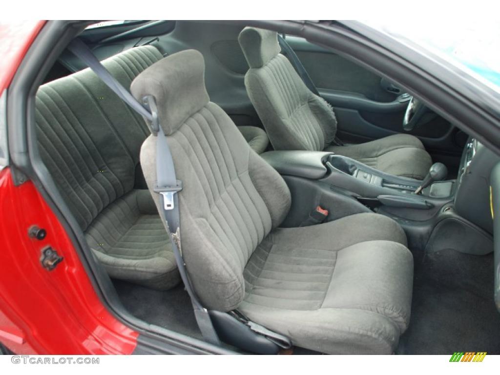 Medium Gray Interior 1995 Pontiac Firebird Coupe Photo 42206823