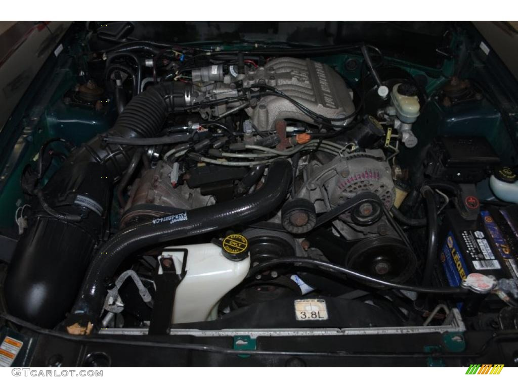 1998 ford mustang v6 convertible 3 8 liter ohv 12 valve v6. Black Bedroom Furniture Sets. Home Design Ideas