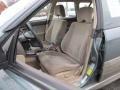 Beige 2002 Subaru Outback Interiors