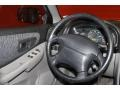 2000 Subaru Impreza Gray Interior Steering Wheel Photo