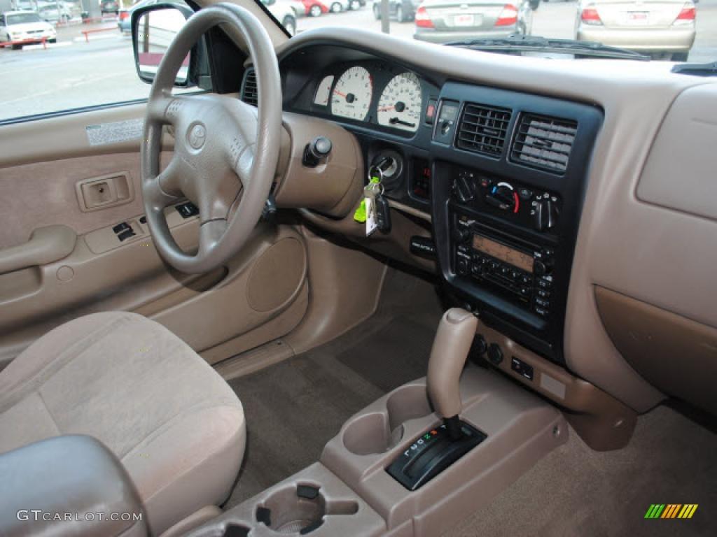 oak interior 2004 toyota tacoma v6 prerunner xtracab photo 42230648