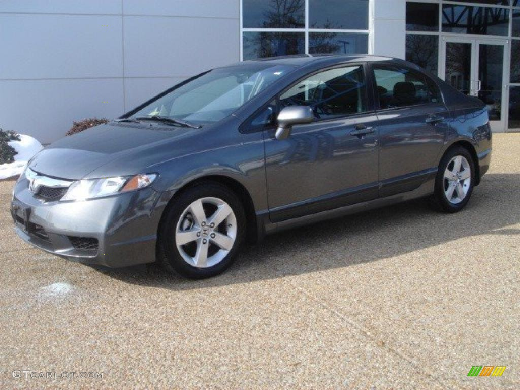 Polished Metal Metallic 2009 Honda Civic Lx S Sedan