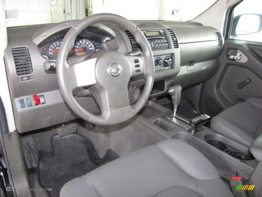 Graphite Interior 2006 Nissan Frontier Xe King Cab Photo 42237740