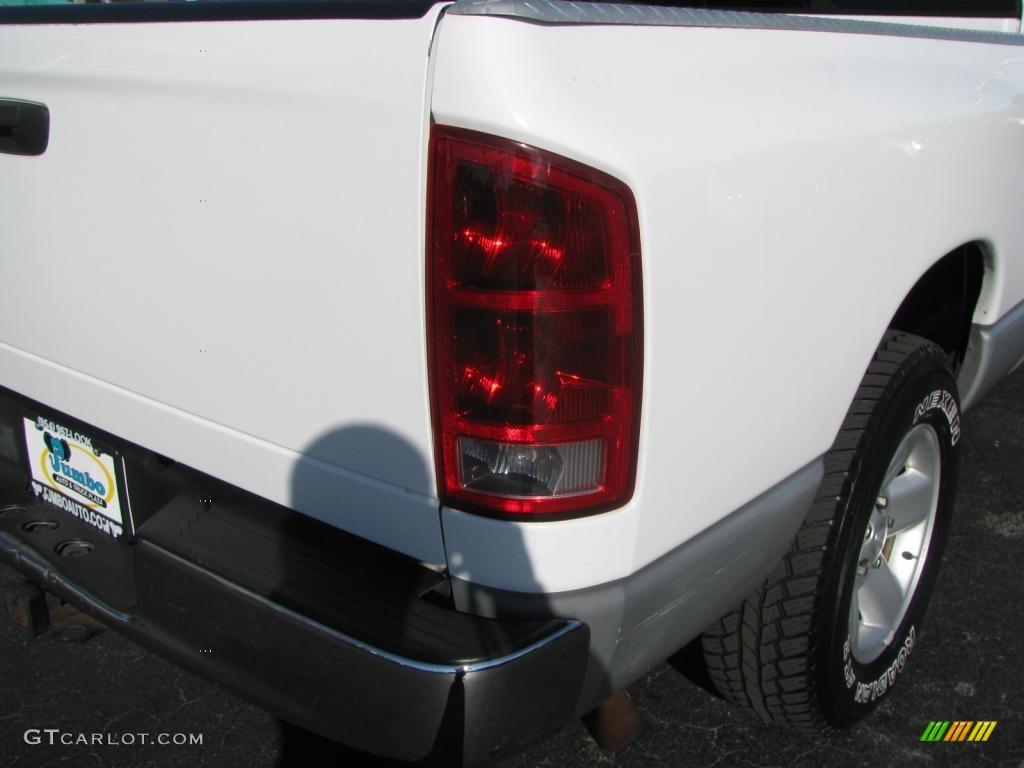 2002 Ram 1500 SLT Quad Cab - Bright White / Taupe photo #12