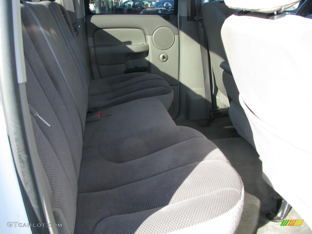 2002 Ram 1500 SLT Quad Cab - Bright White / Taupe photo #16