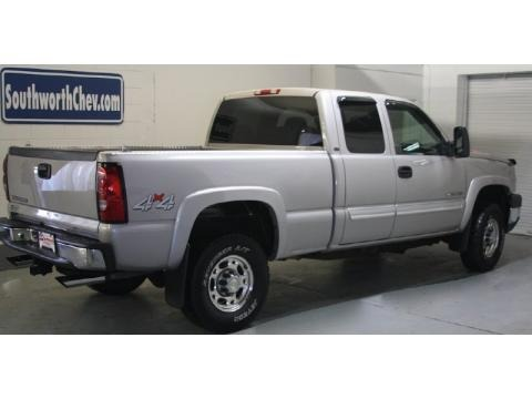 2007 chevrolet silverado 2500hd classic work truck extended cab 4x4 data info and specs. Black Bedroom Furniture Sets. Home Design Ideas