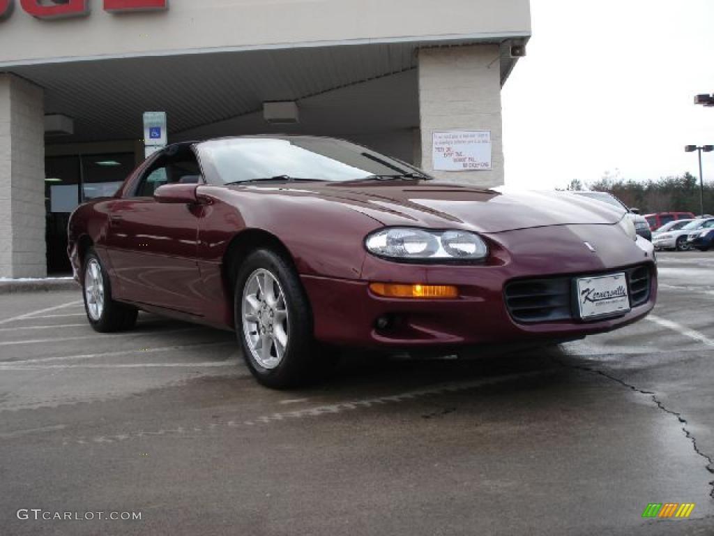 2001 monterey maroon metallic chevrolet camaro coupe 42244066 gtcarlot com car color galleries gtcarlot com