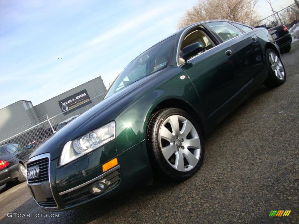 2005 Cambridge Green Pearl Effect Audi A6 3 2 Quattro