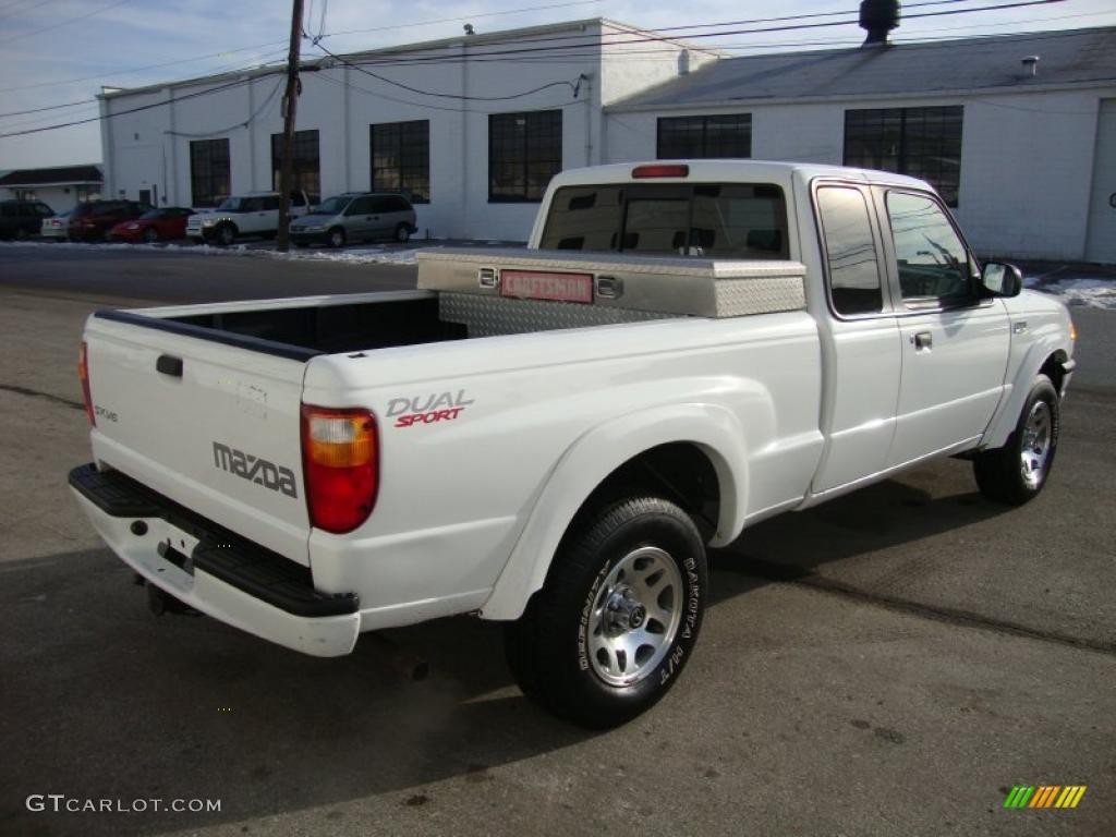 classic white 2001 mazda b series truck b4000 dual sport. Black Bedroom Furniture Sets. Home Design Ideas