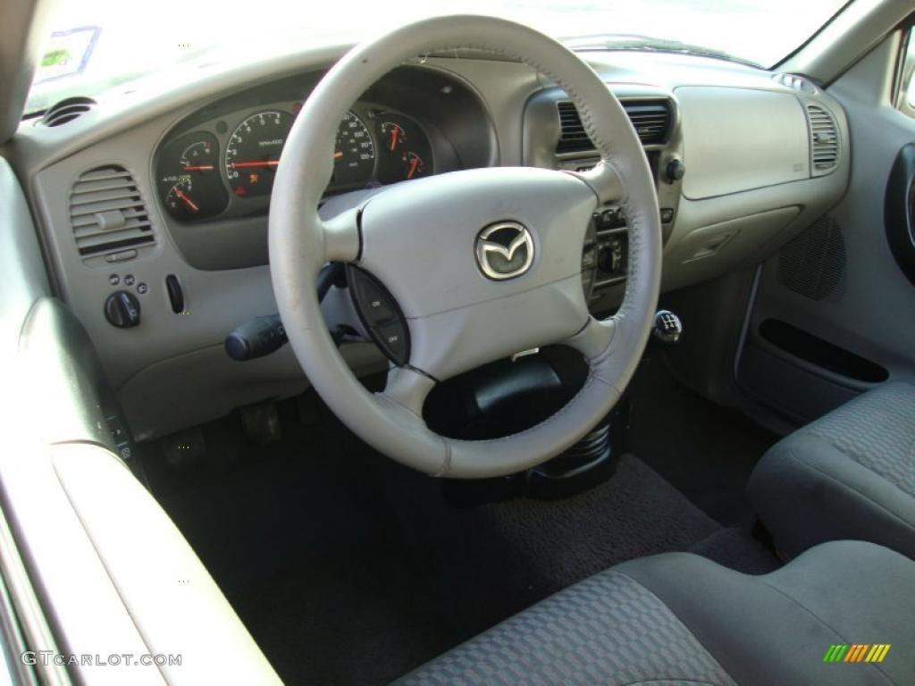 Medium graphite interior 2001 mazda b series truck b4000 dual sport cab plus 4 photo