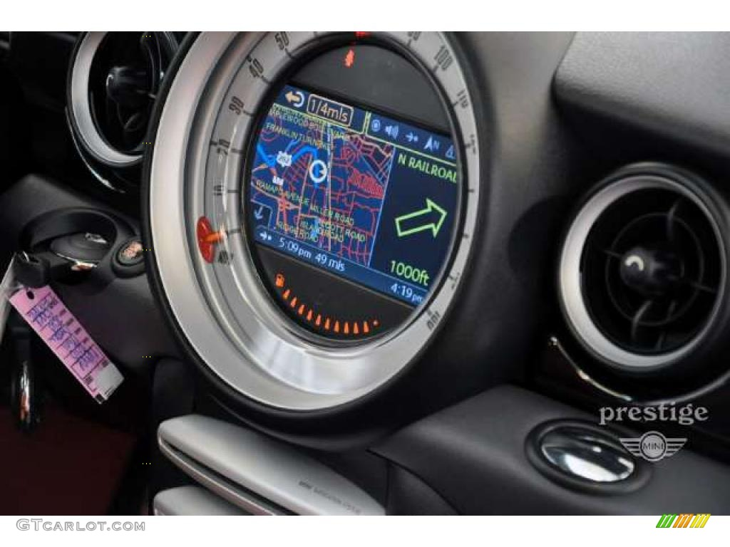 2010 mini cooper john cooper works hardtop navigation. Black Bedroom Furniture Sets. Home Design Ideas