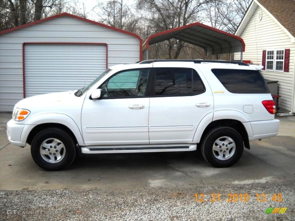 2002 natural white toyota sequoia limited 4wd 42243792 gtcarlot com car color galleries gtcarlot com