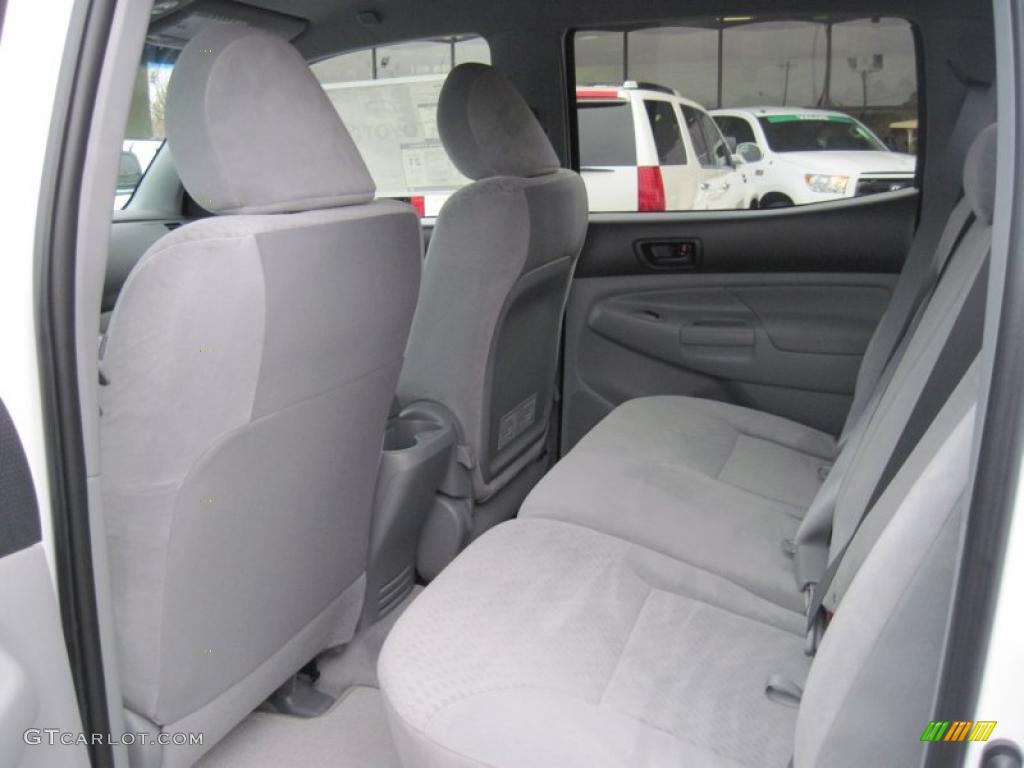2011 Toyota Tacoma Interior Double Cab 2011 toyota tacoma v6