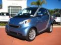 2011 fortwo passion cabriolet Light Blue Metallic