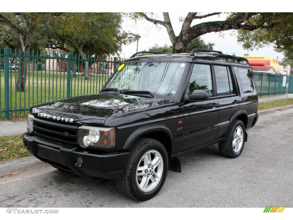 Java black 2003 land rover discovery se exterior photo for Range rover exterior design package