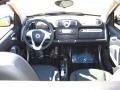 2011 fortwo passion cabriolet Design Black Interior