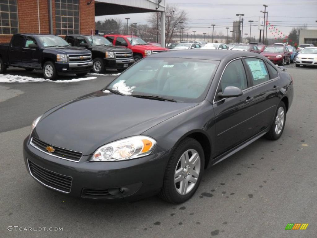 2011 cyber gray metallic chevrolet impala lt 42296075 car color galleries. Black Bedroom Furniture Sets. Home Design Ideas