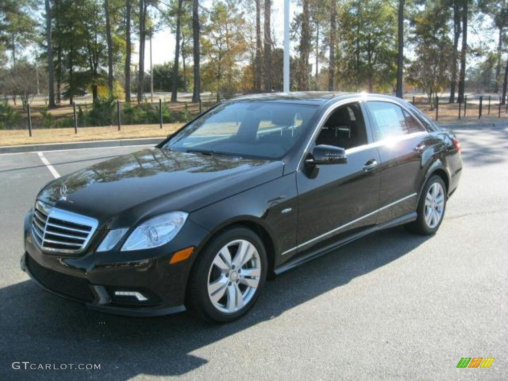 Black 2011 mercedes benz e 350 bluetec sedan exterior for Mercedes benz bluetec diesel